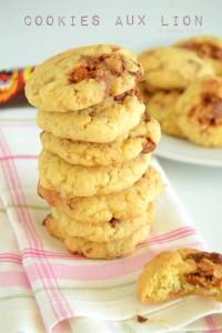 Cookies aux Lion 1