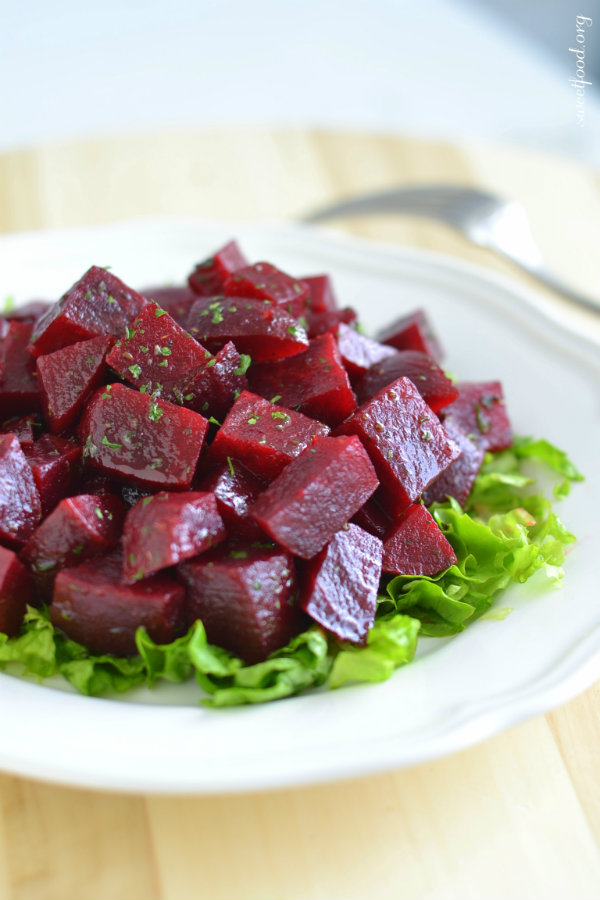 Salade de betterave rouge - Sweet Food