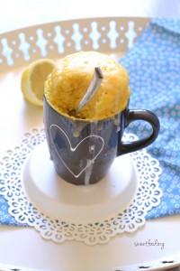 Mug cake citron 1