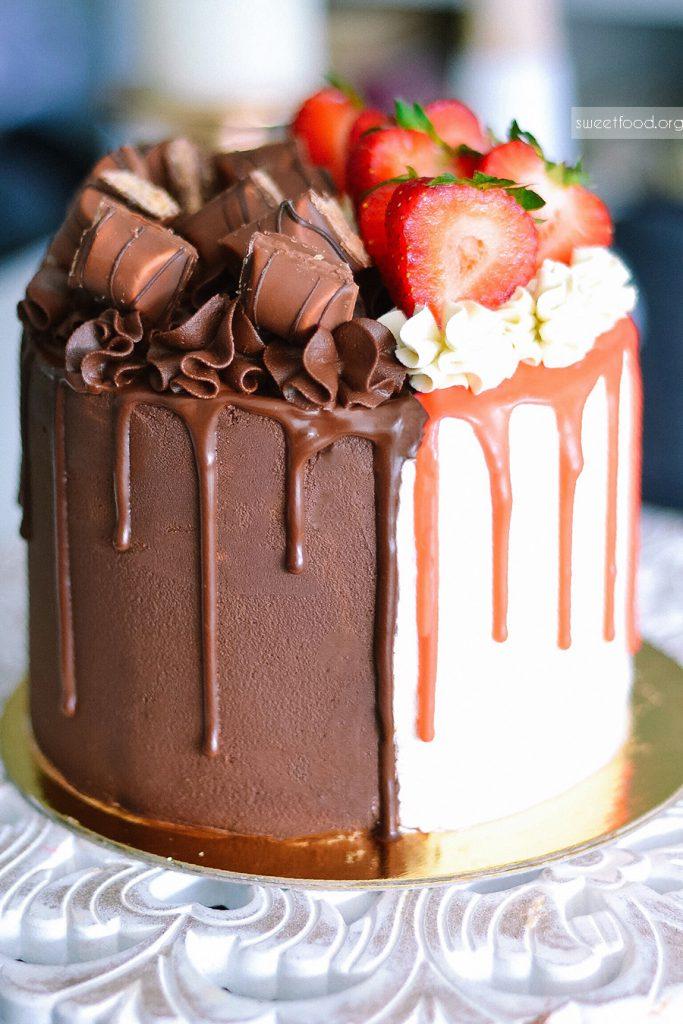 Layer Com Cake Com Kinder