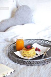 Pancake fruits rouges 3