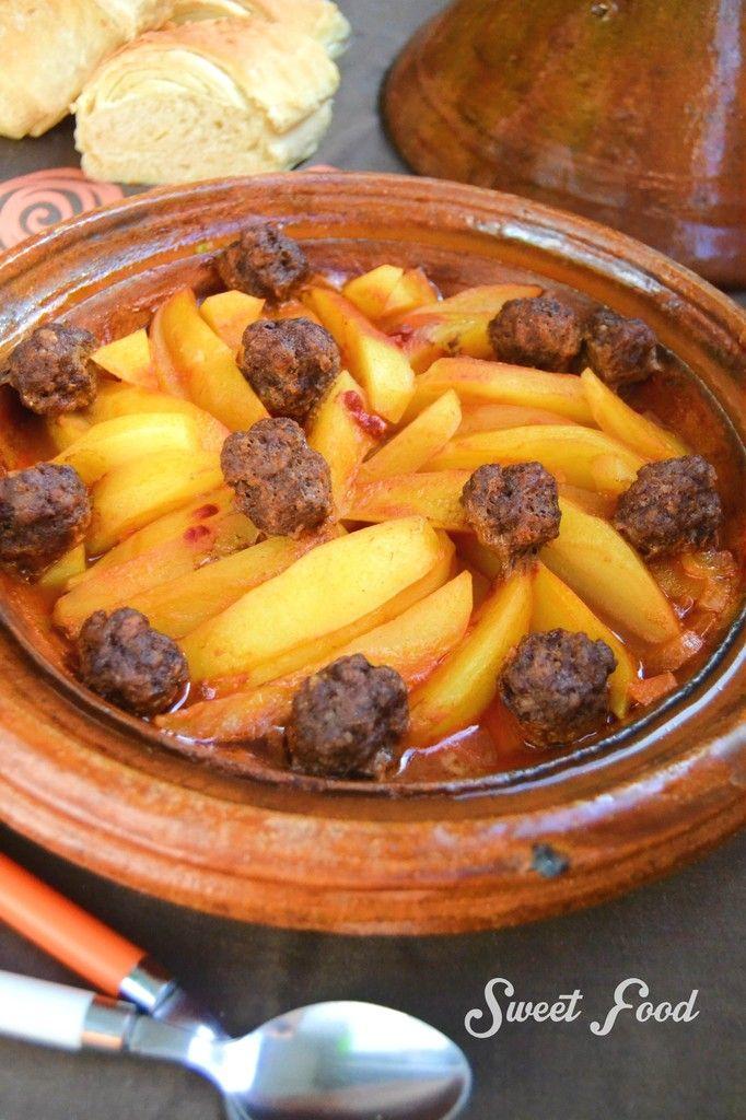 Tagine viande haché/pomme de terre