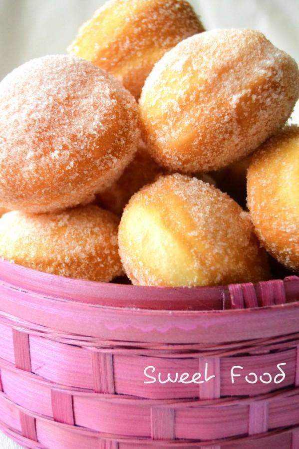 Beignets au sucre sans beurre