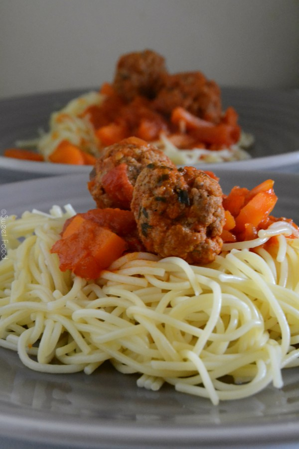 Spaghetti bolognaise à ma façon