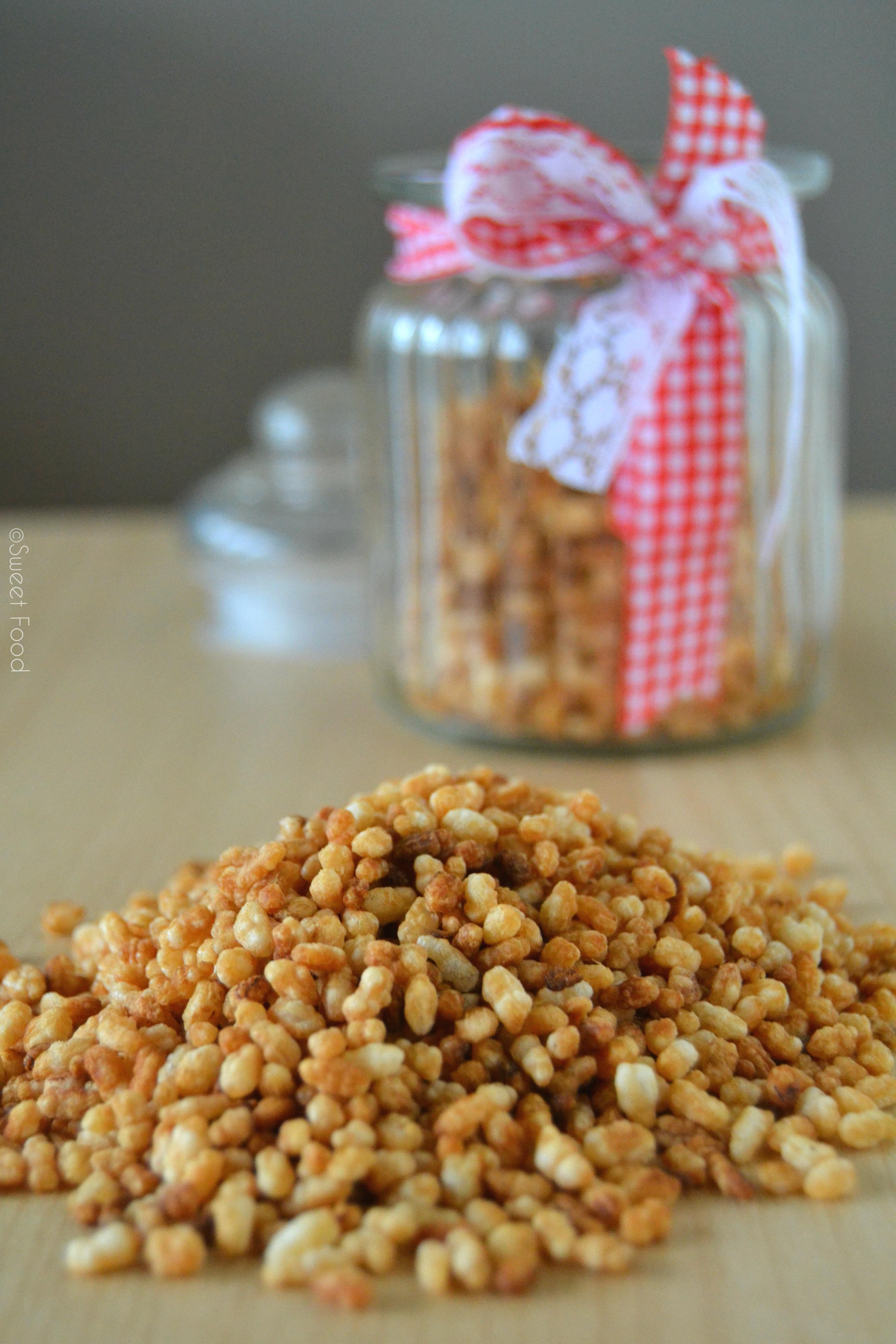 Riz soufflé maison – Sweet Food