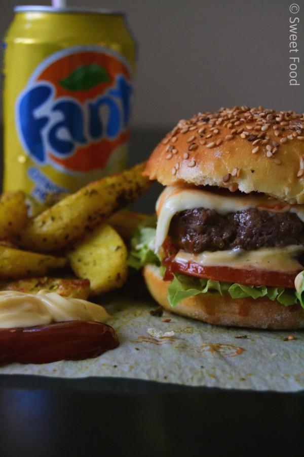 Hamburger Maison / Pain hamburger maison