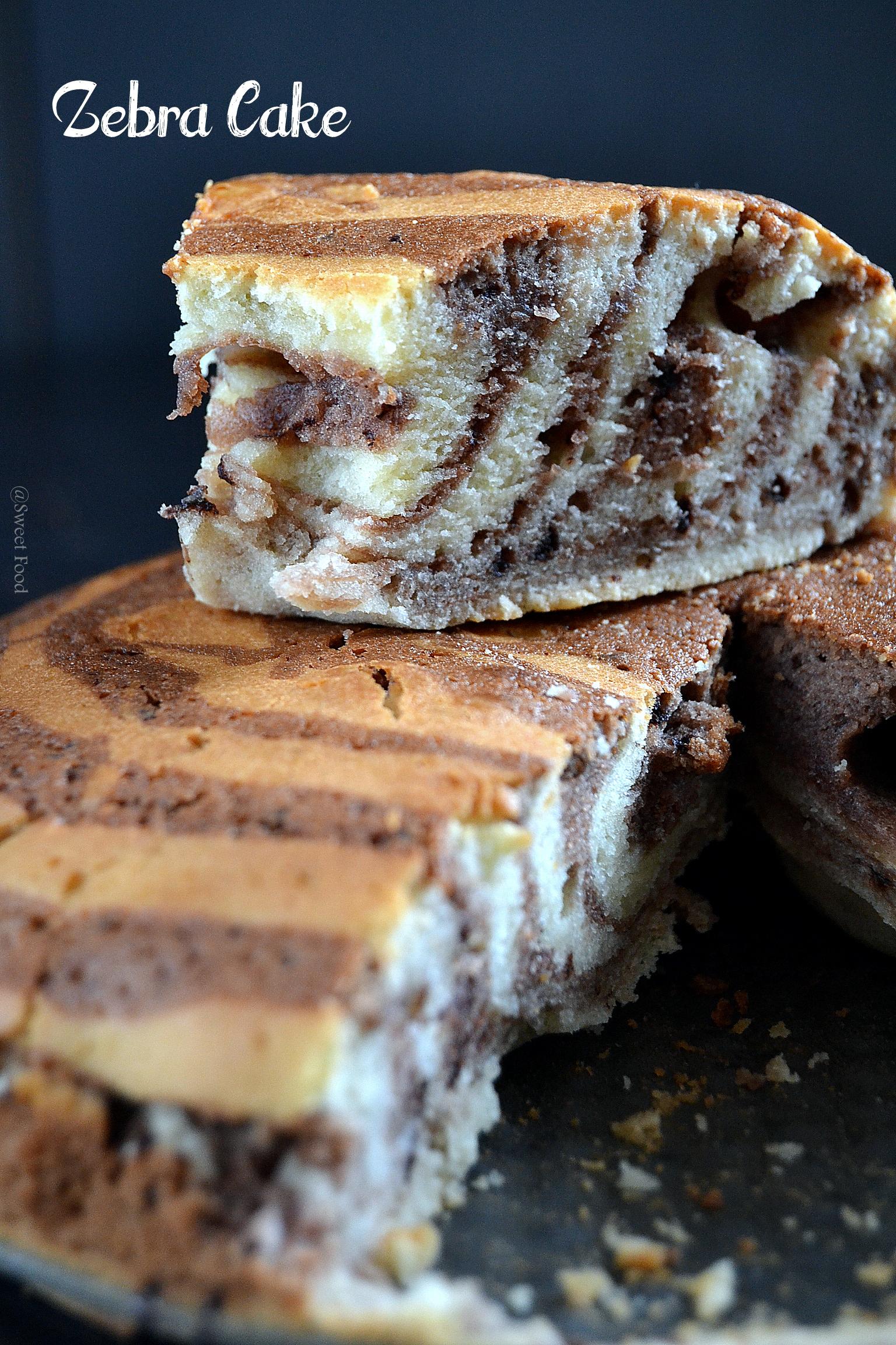 Gâteaux zebré – Zebra Cake