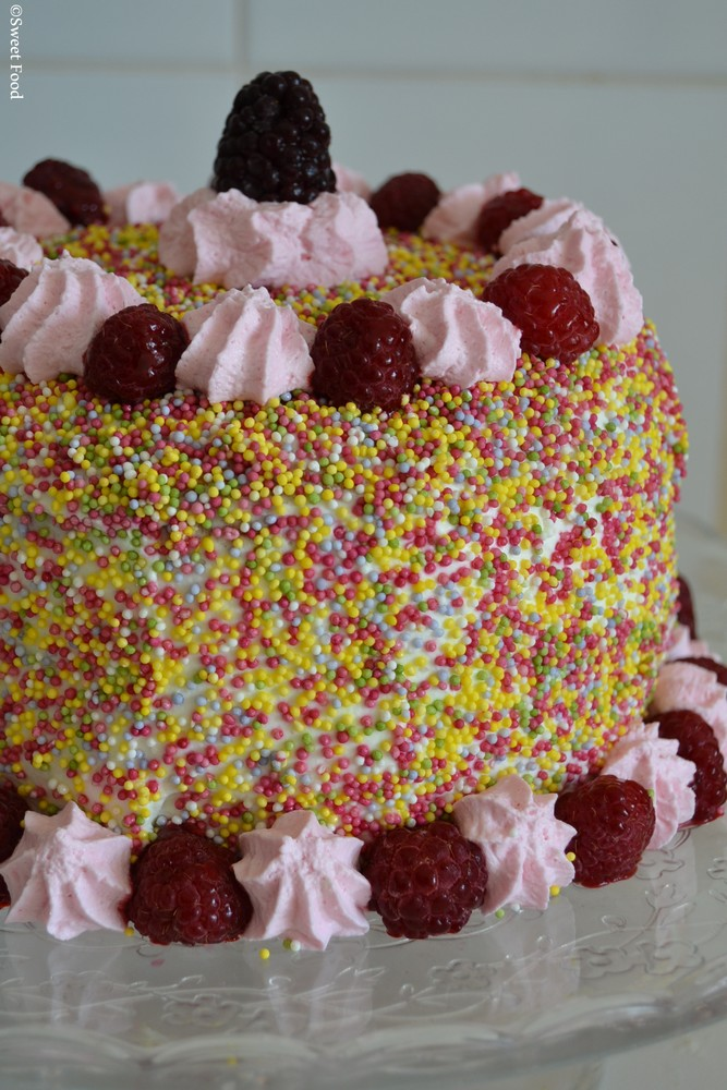 Sprinkle cake #2