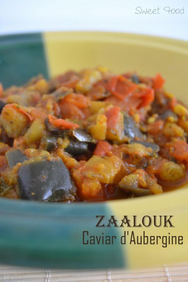 Zaalouk – caviar d'aubergine