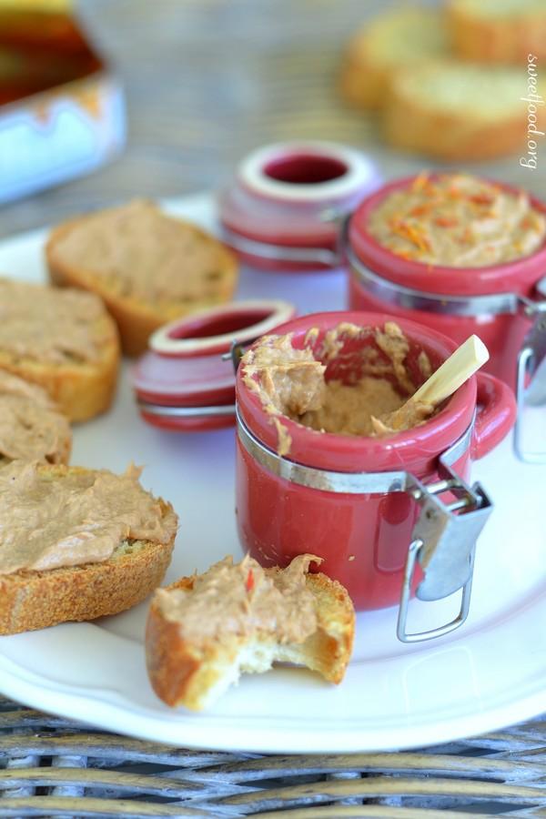 Rillette de sardine à la crème et au safran
