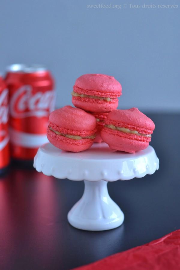 Macaron au Coca-cola ®
