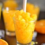 granité à l'orange