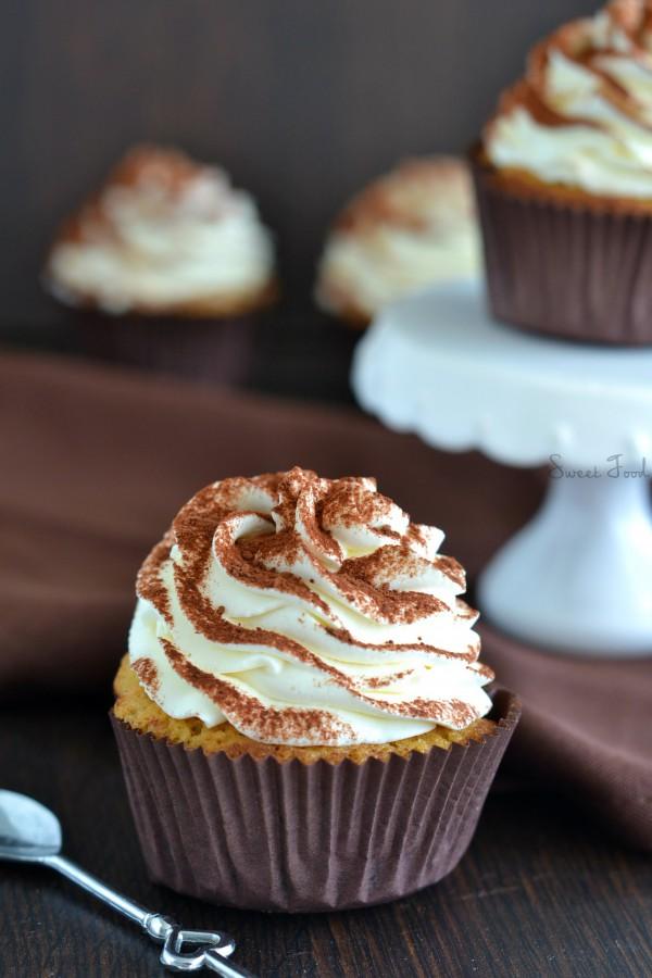 Cupcake façon tiramisu