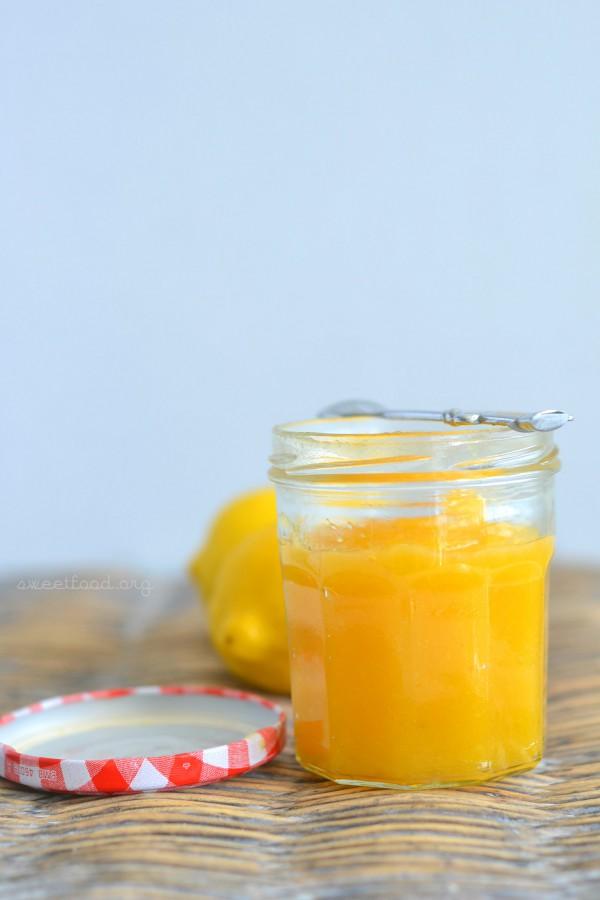 Lemon curd sans beurre