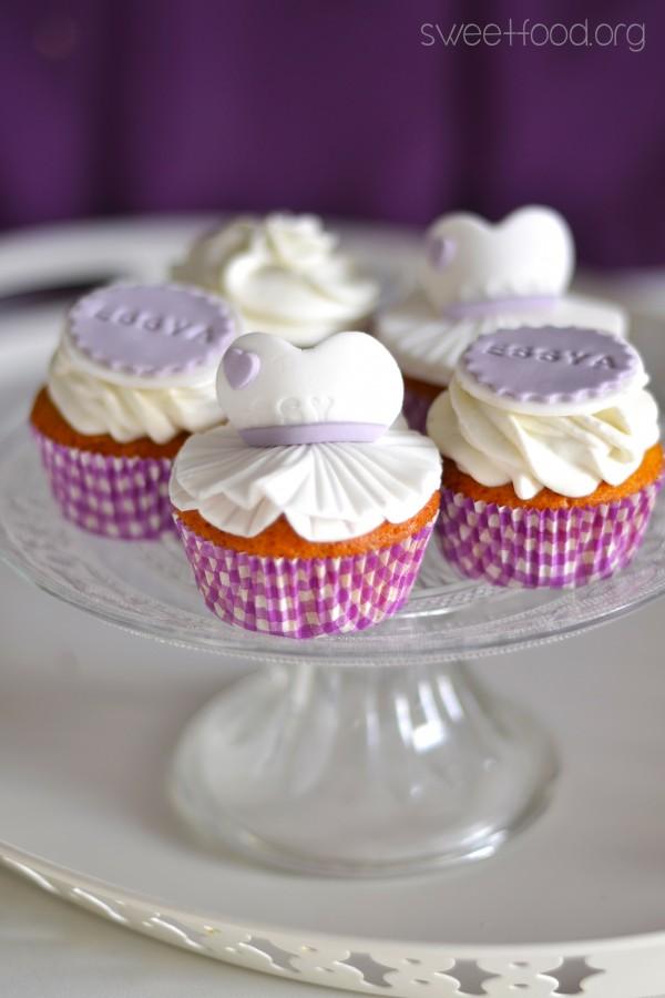 Cupcake ballerine pour essya - sweetfood