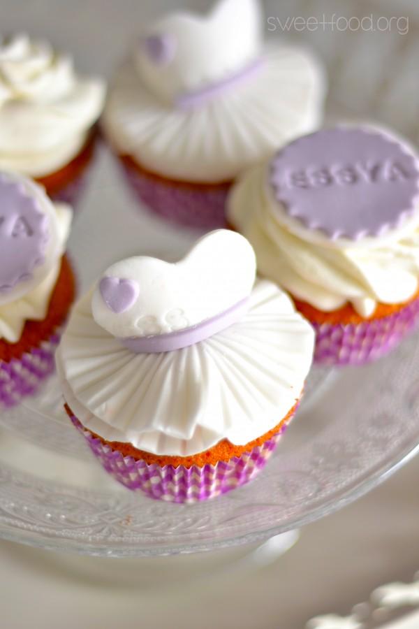 Ballerine cupcake pour essya