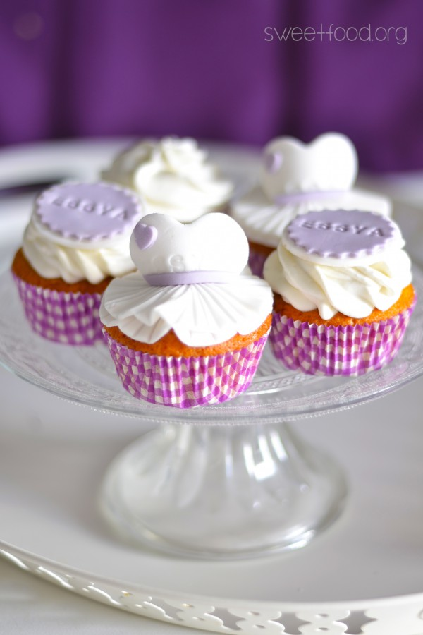 Cupcake ballerine pour Essya