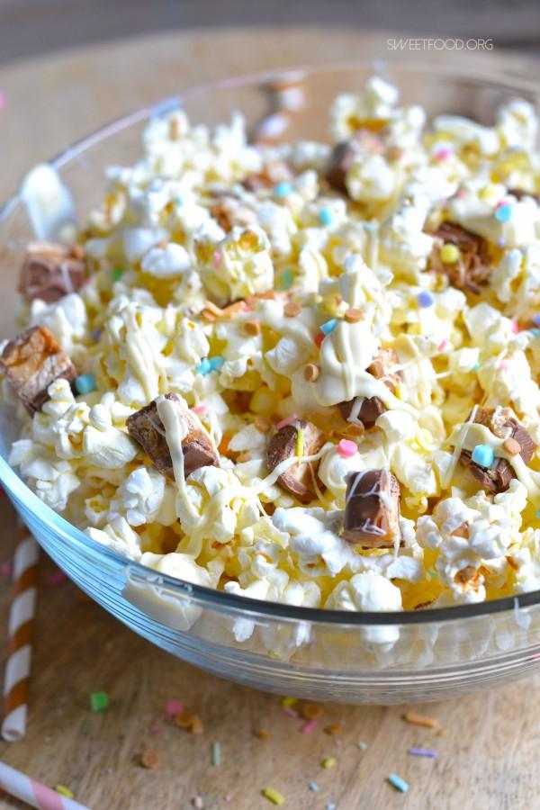 Pop-corn gourmand