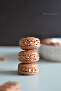 macaron chocolat 1