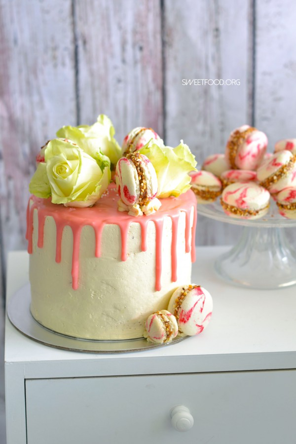 Layer Cake Fleuri – Chocolat pralin