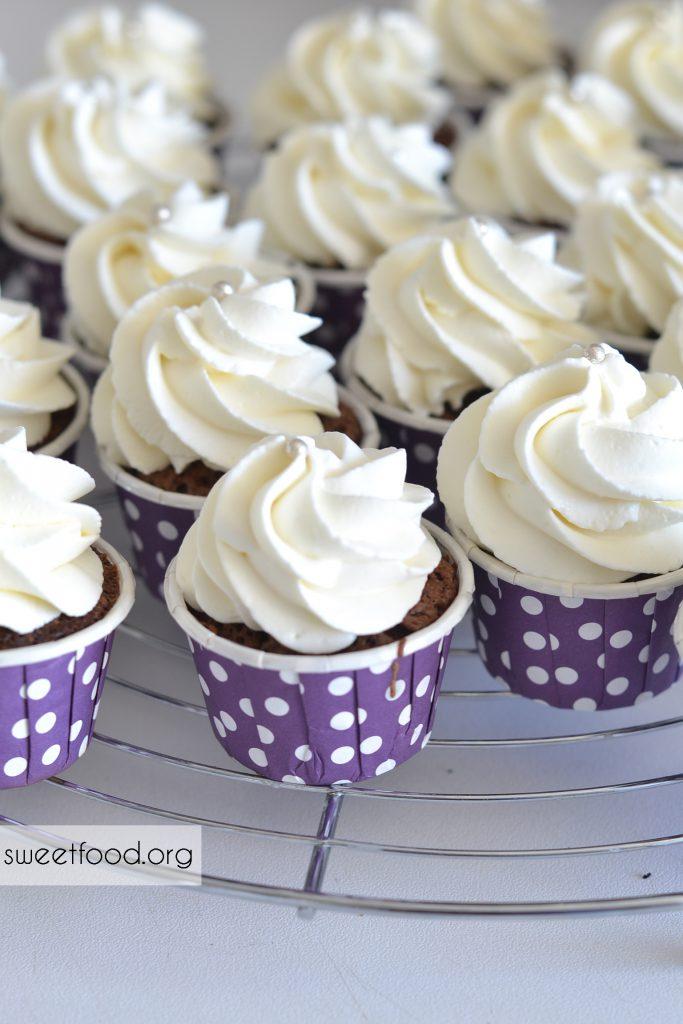 cupcake choco vanille