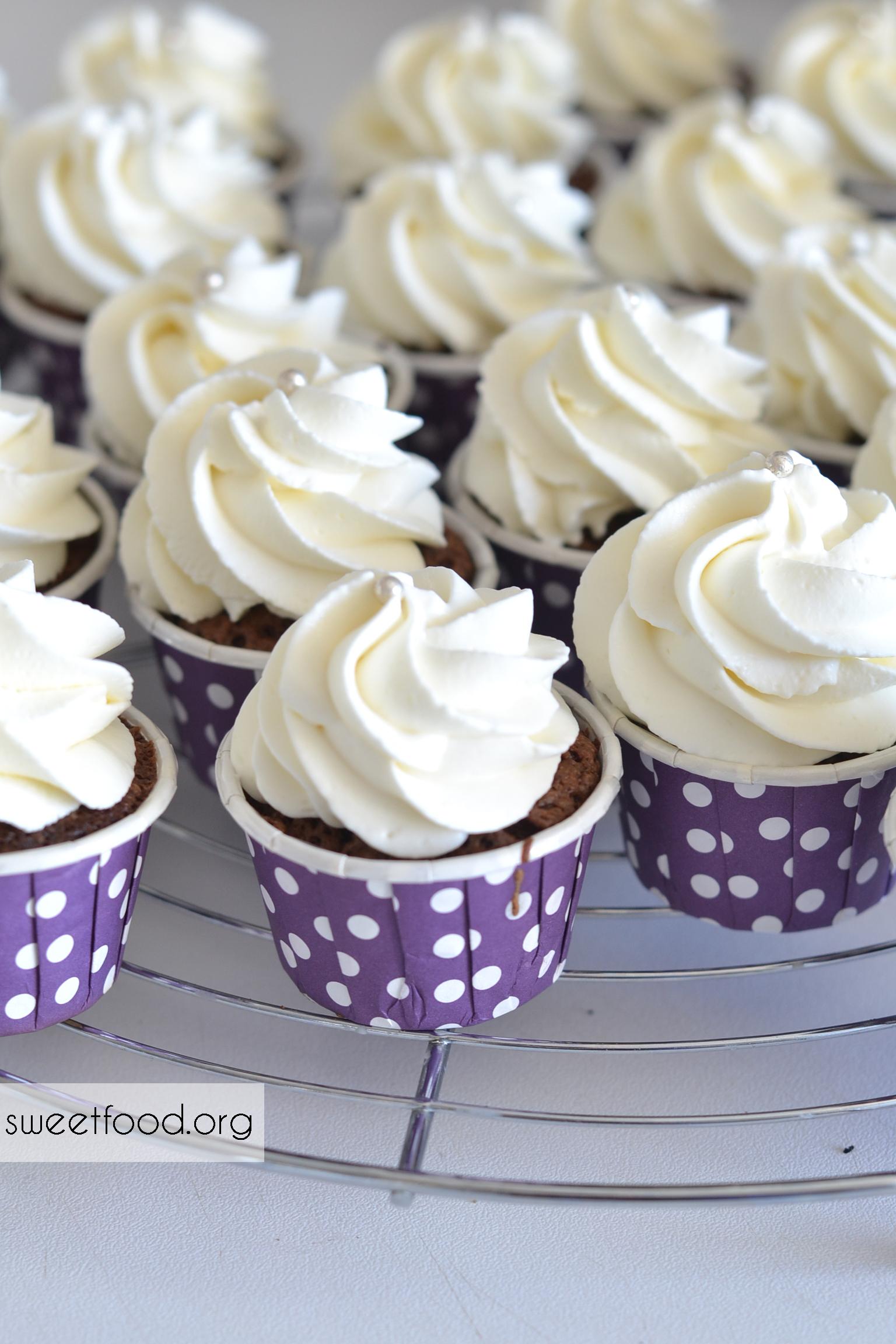 Mini cupcake Chocolat et vanille